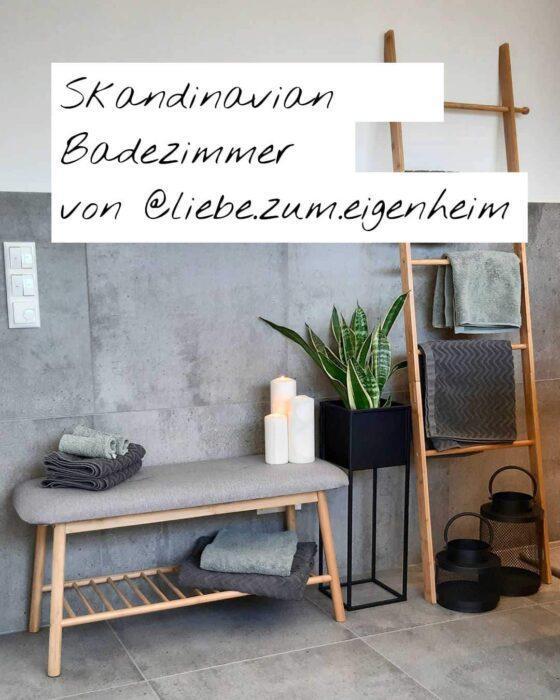 Home Trends - Skandinavian Badezimmer von liebe.zum.eigenheima