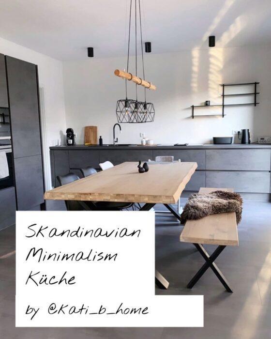HomeTrends - Skandinavian Minimalism - Kueche by kati_b_home
