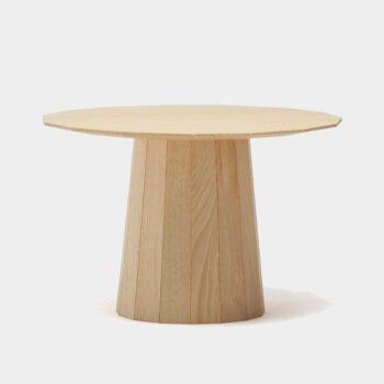 HomeTrends-Couchtisch-Karimoku New Standard-Kastanienholz-rund-Massivholz-natur